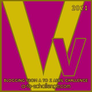 #AtoZChallenge 2021 April Blogging from A to Z Challenge letter V