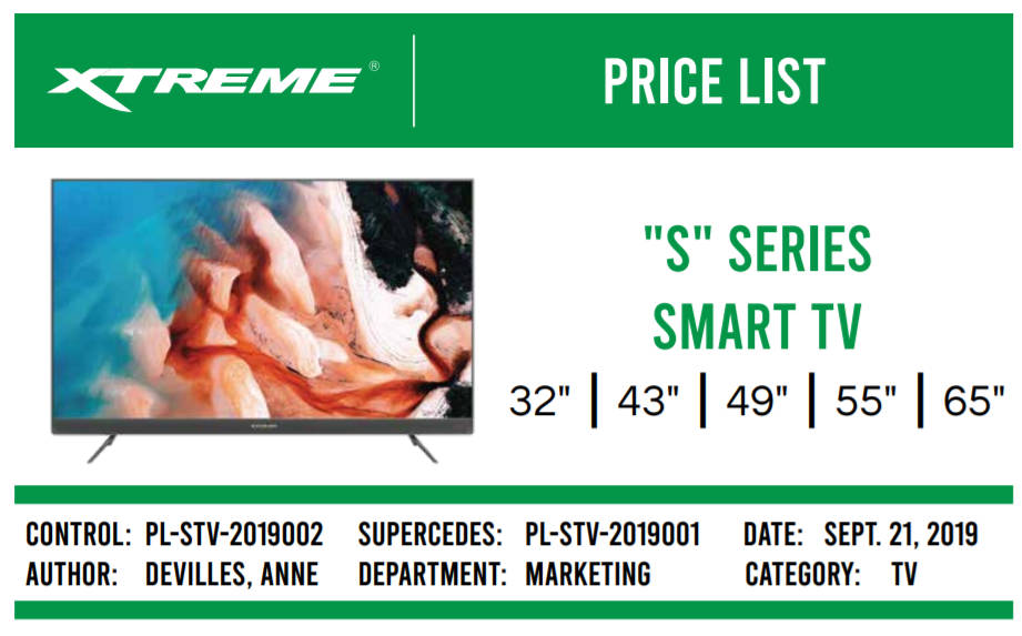 Xtreme Smart TV