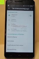 "Ton Benachrichtigungen: HOMTOM HT30 3G Smartphone 5.5""Android 6.0 MT6580 Quad Core 1.3GHz Mobile Phone 1GB RAM 8GB ROM Smart Gestures Wake Gestures Dual SIM OTA GPS WIFI,Weiß"