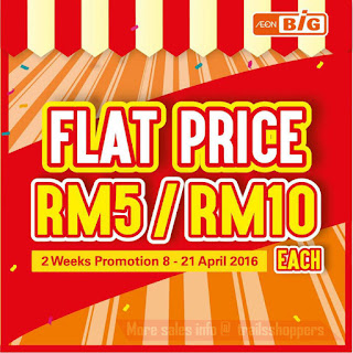 AEON BiG Flat Price Promotion discount