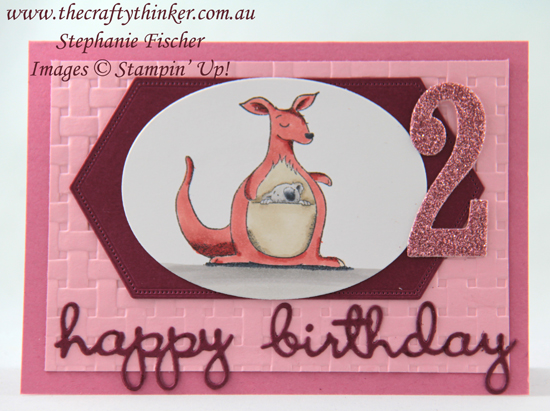 #thecraftythinker #animalouting  #childscard  #cardmaking #stampinup , animal outing, child's card, Stampin' Up Australia Demonstrator, Stephanie Fischer, Sydney NSW