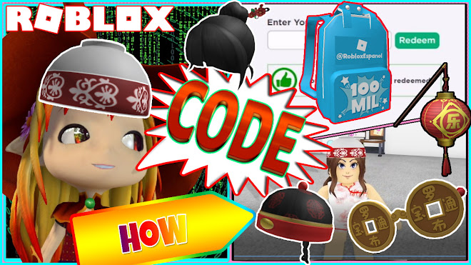 ROBLOX FREE ITEMS! PROMO CODES AND HOW TO GET LIMITED LUOBU PACK 3
