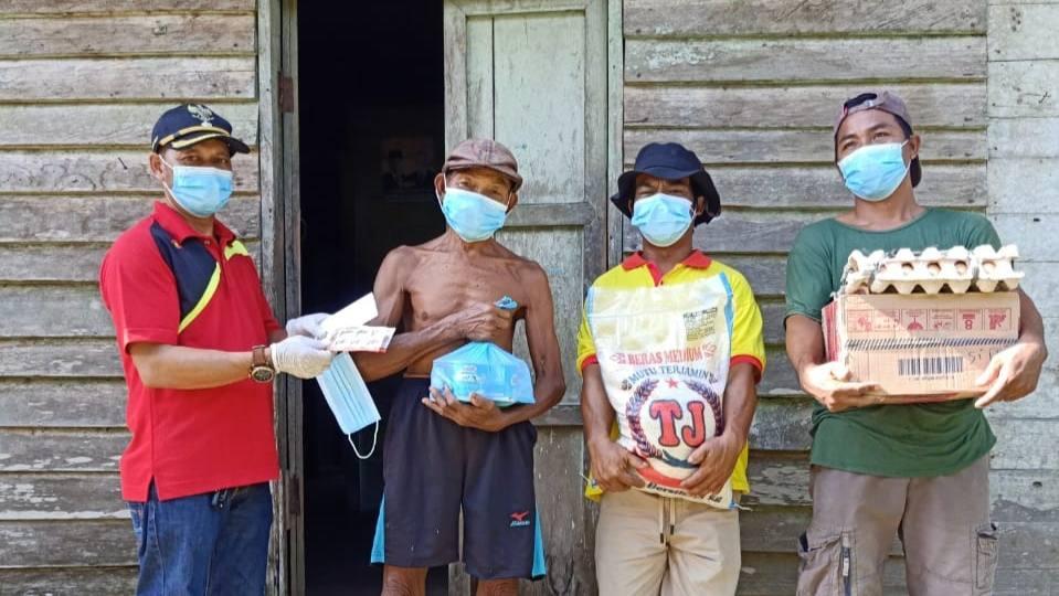 Pemdes Lihai bantu Sembako bagi Warga Positif COVID-19 jalani Isolasi Mandiri