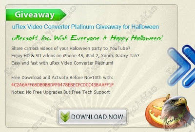 uRex Video Converter Platinum, Audio, Audio Editors, Video, Video Editors, Giveaway, Windows, Windows 7