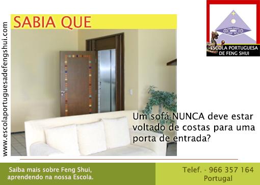 Escola portuguesa de feng shui sala for Sala de estar feng shui