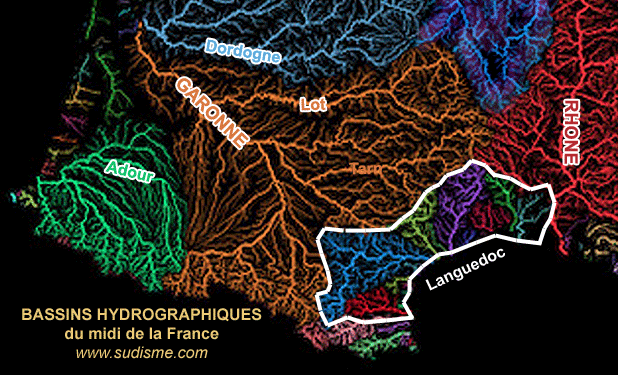 Partage des eaux Occitanie