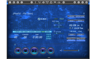 X-Black (Jet Audio Skin) Full Download