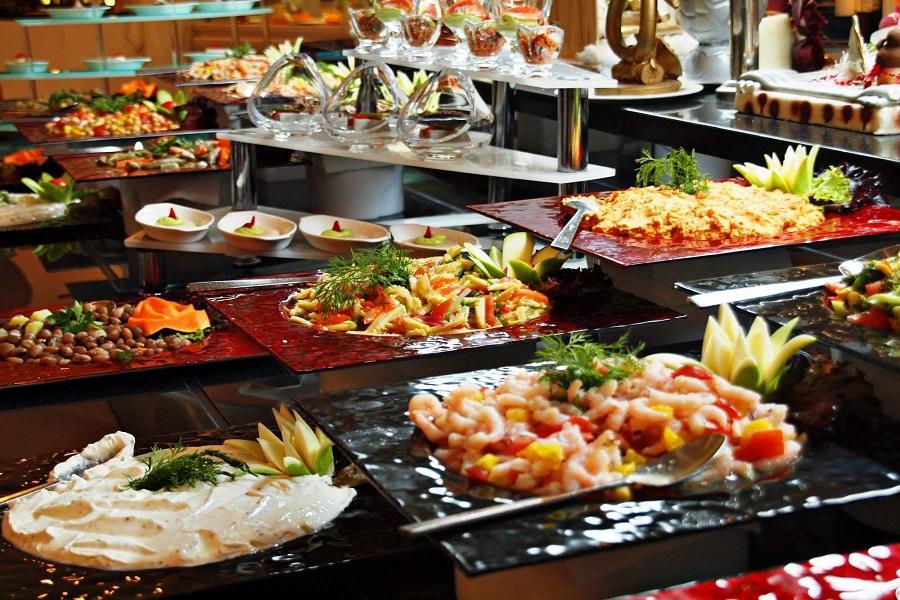 Hình ảnh tiệc buffet ngon