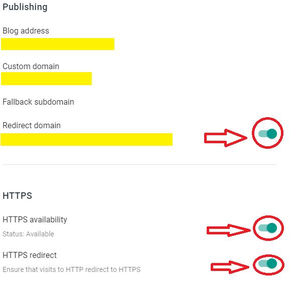 Setup GoDaddy Custom Domain On Blogger | Turn On Redirect