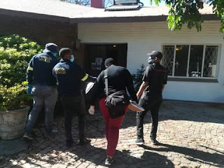 Three Nigerians arrested in South Africa for allegedly keeping sex slaves appear in court on human trafficking charges