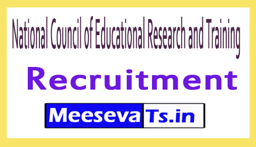 National Council of Educational Research and Training NCERT Recruitment