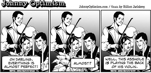 johnny optimism, medical, humor, sick, jokes, boy, wheelchair, doctors, hospital, stilton jarlsberg, romantic dinner, couple, violin, candles