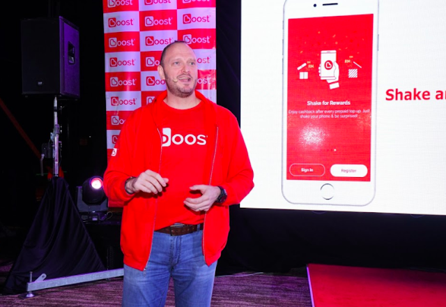 Christopher Tiffin, CEO of Boost