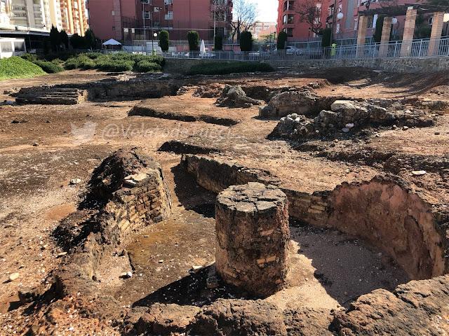horno cerámico romano de la finca del secretario