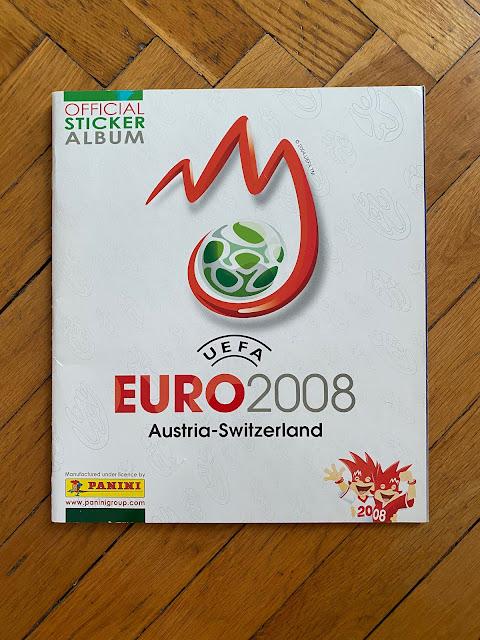 Copertina Panini Euro 2008