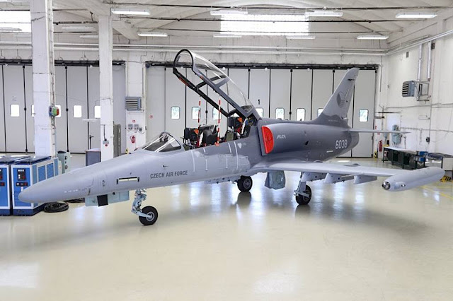 Czech Army Aero L-159T2 upgraded