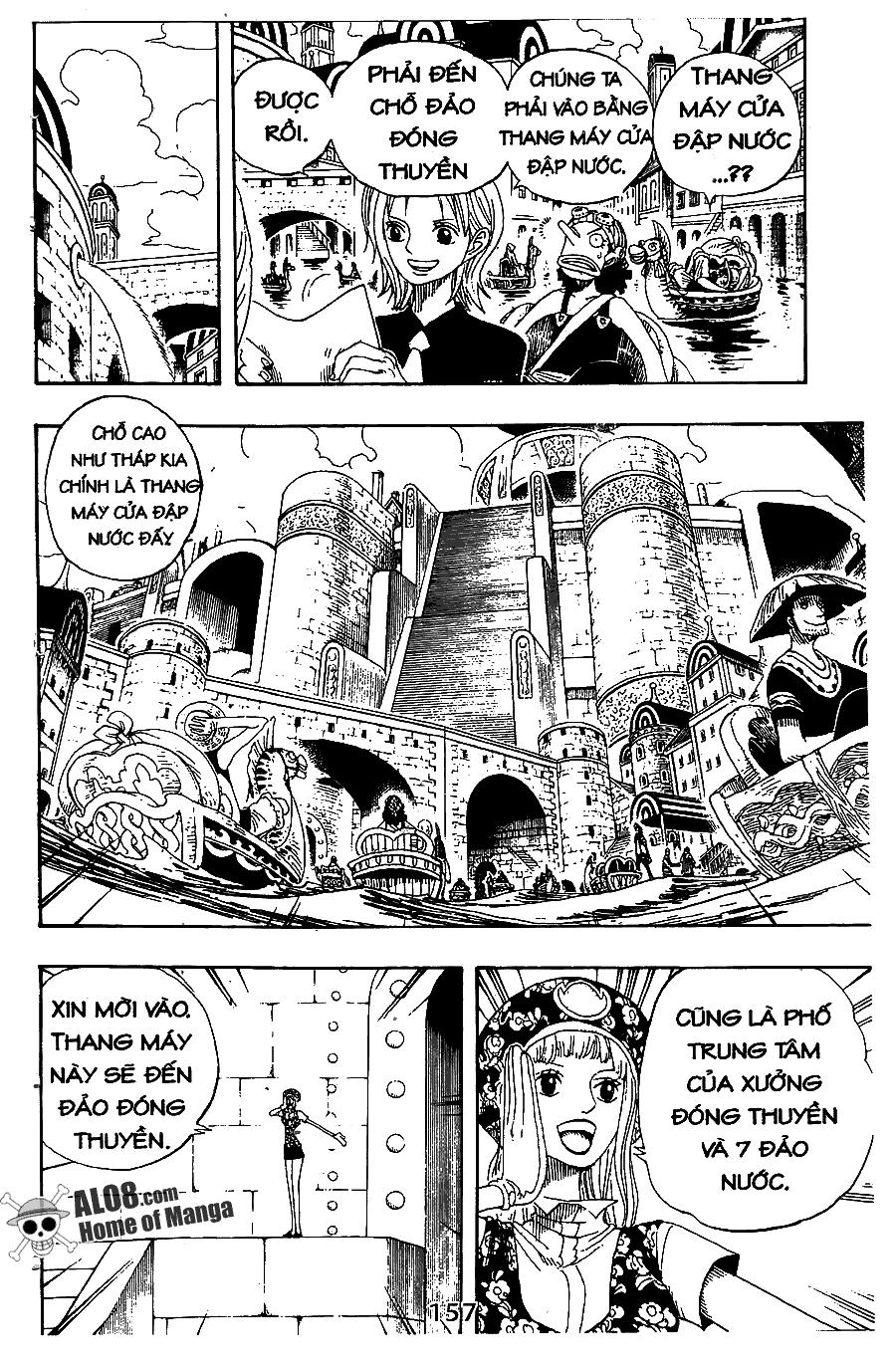 One Piece Chap 324
