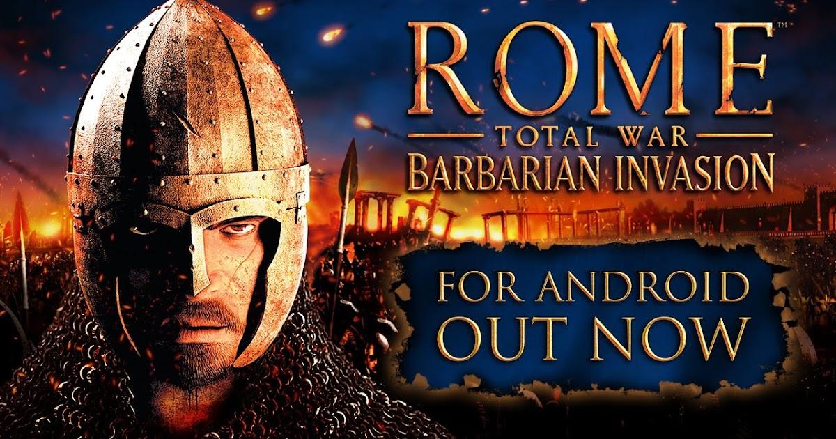 تحميل لعبة rome total war للاندرويد