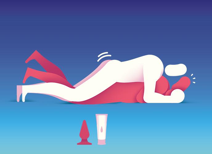 5 posições para facilitar o sexo anal para quem vai ser passivo pela primeira vez