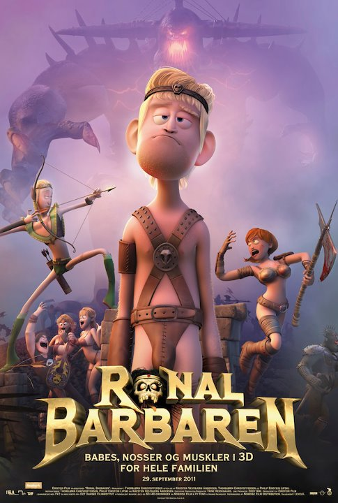 Review Filem Ronal the Barbarian