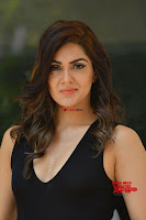 Sakshi Chaudhary in beuatiful black Deep neck Top and trousers at oollo pelliki kukka ~  Exclusive Galleries 003.jpg