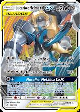 TCG Lucario & Melmetal GX UNB