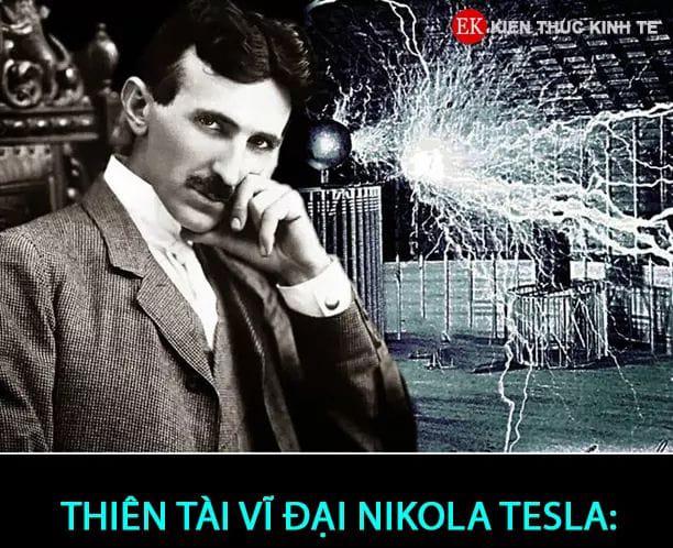 Chân dung của nhà bác học thiên tài lập dị Nikola Tesla