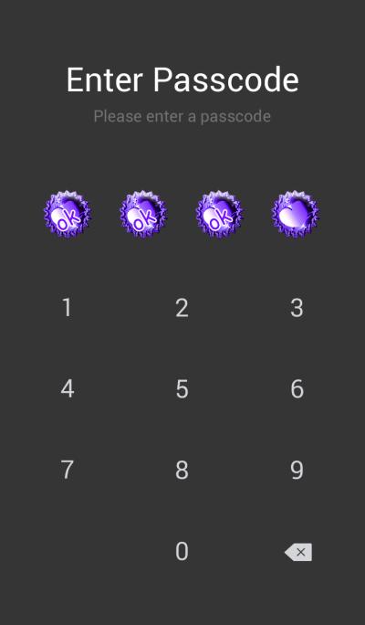 Purple Jewelry Heart