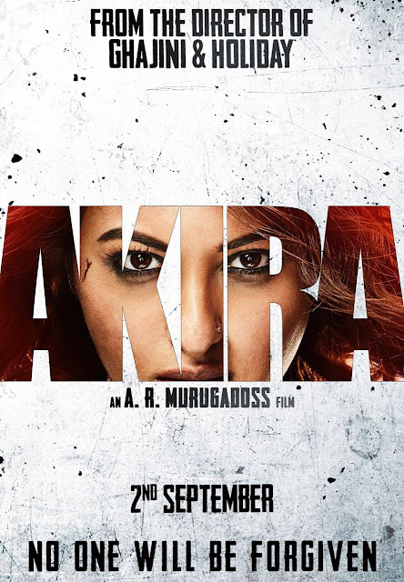 Akira Poster, Akira Sonakshi Sinha, Akira Movie Poster, Akira AR Murugadoss