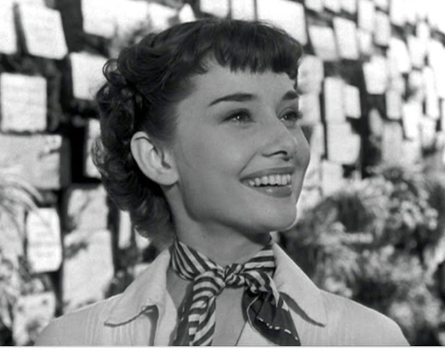Audrey Hepburn in Roman Holiday