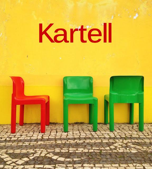 Kartell, cadeiras, vintage, 1970