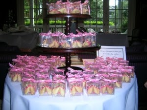 The Bride Guide Blog Inexpensive And Unique Wedding Favors Fortune Cookies Get Your Guests Talking