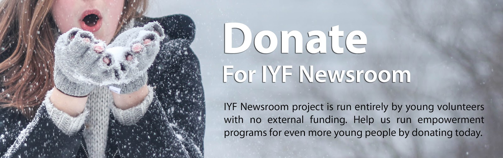 Donate for IYF Newsroom