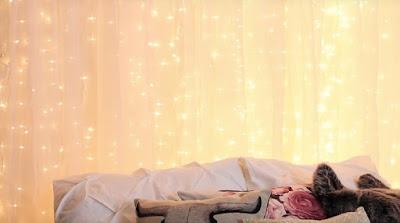 Cortina de luzes