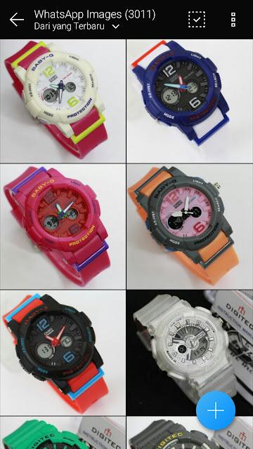 Katalog Jam Tangan merk Digitec Original