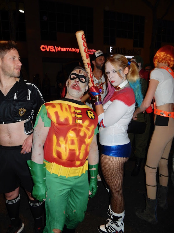 Harley Quinn Suicide Squad costume West Hollywood Halloween
