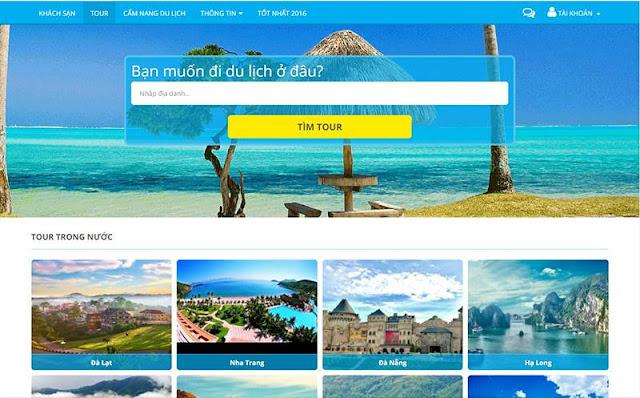 Hãy thu hút khách hàng nhờ thiết kế website du lịch đẹp