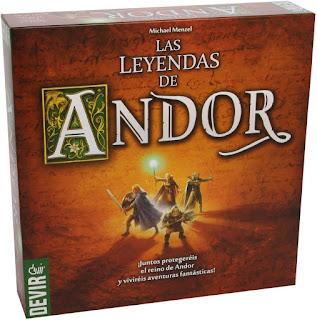 Las leyendas de Andor el juego de tablero