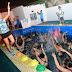 Ritmo, color y alegría en el inicio del aquagym municipal