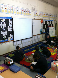 Mrs. Moorman, teaching in room 6