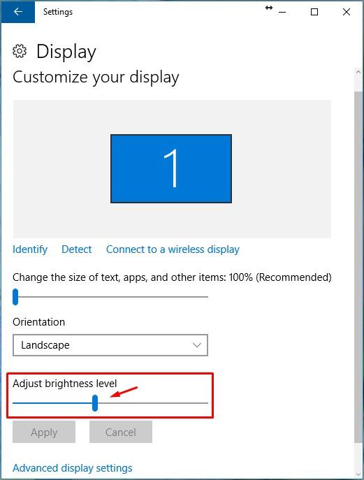 cara mengatur kontras laptop