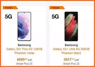 pareri preturi ornage samsung galaxy s21 5G forum GSM