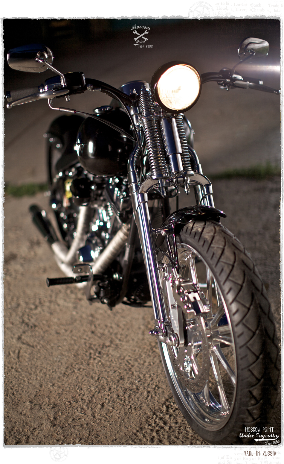 Harley Davidson by TRG Garage :: via Moscow Point