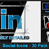 VideoHive Social Media Icons- 30 Pack