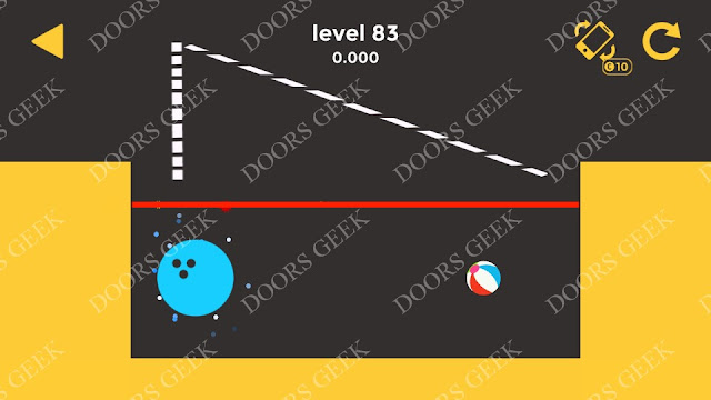 Ball & Ball Level 83 Solution, Walkthrough, Cheats for android and ios