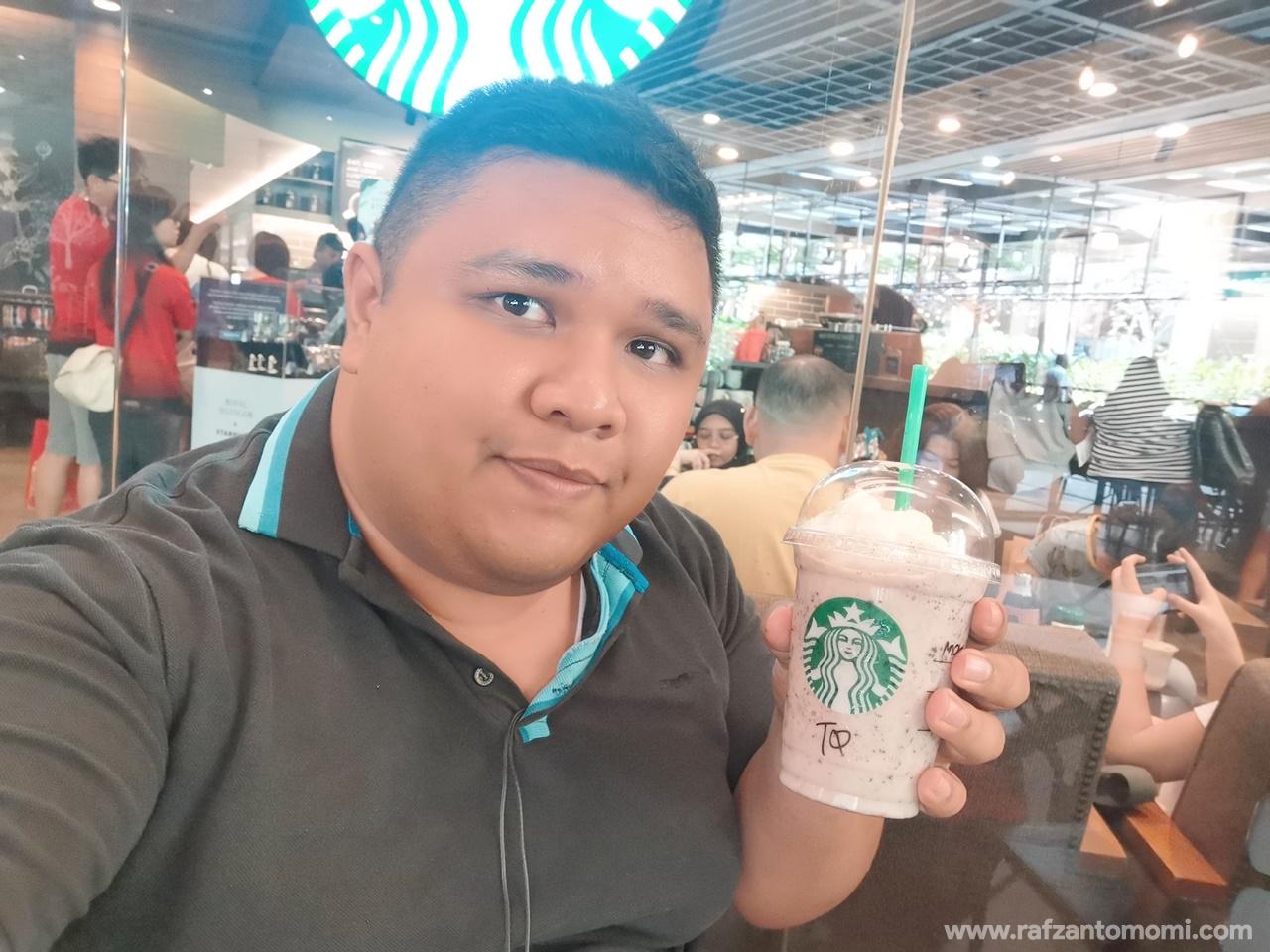 Beli Air Starbucks RM10 Dengan Touch n Go eWallet