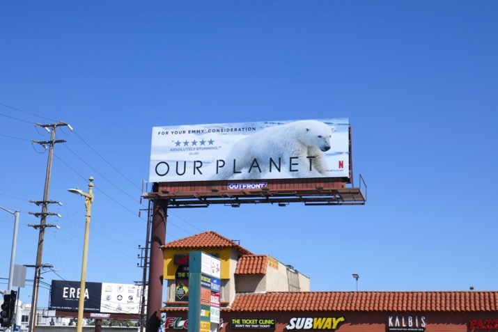 Our Planet 2019 Emmy FYC billboard