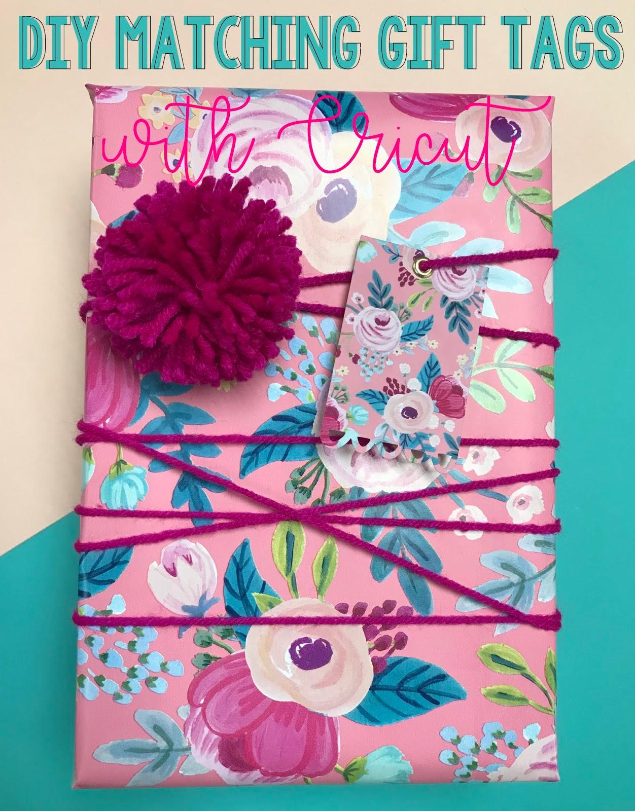 Not So Cli Shea Diy Matching Gift Tags With Cricut