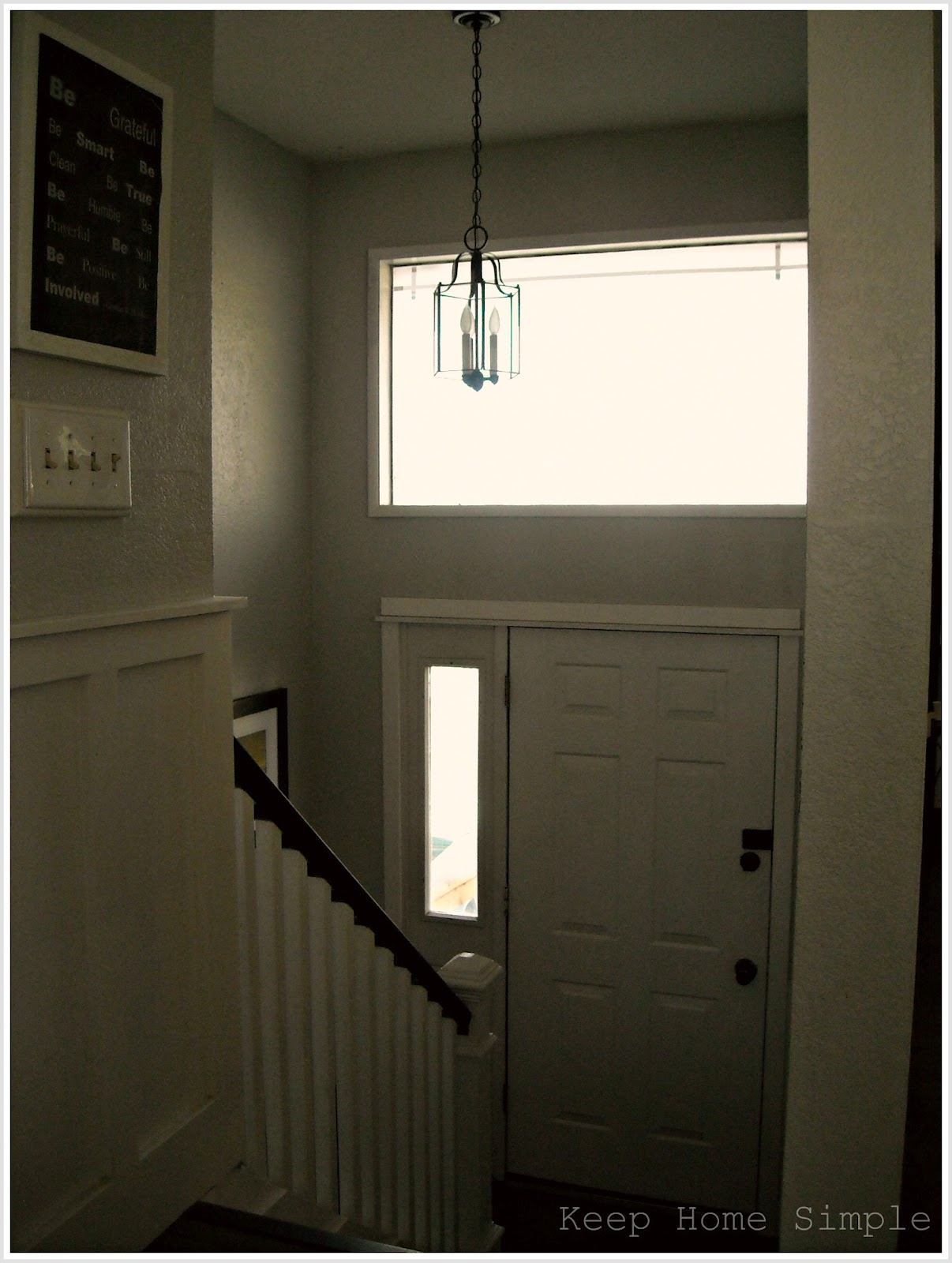 Keep Home Simple New Entry Light: Keep Home Simple: New Entry Light