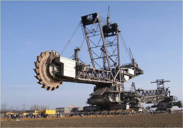 escavadeira Bagger 288 Krupp